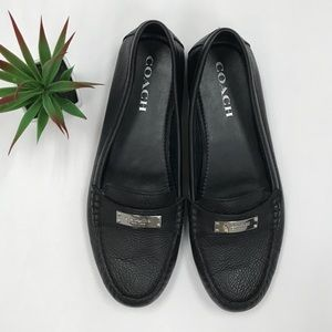 [COACH] leather loafers